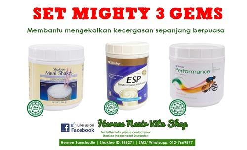 mighty 3 gems