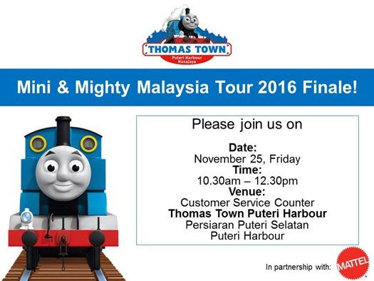 Blogger Invite_Thomas Town Mini & Mighty Tour in Johor