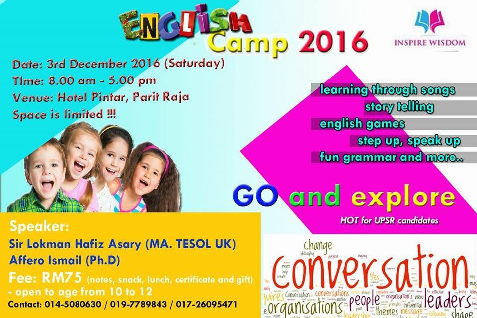 english camp 2016