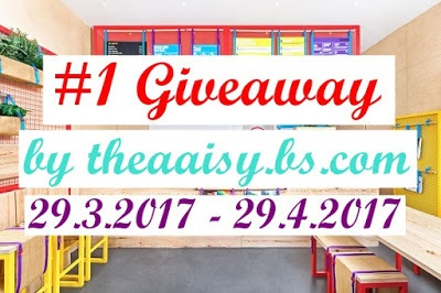 THEAAISY 1ST GIVEAWAY baner