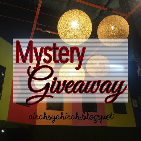 mistery giveaway