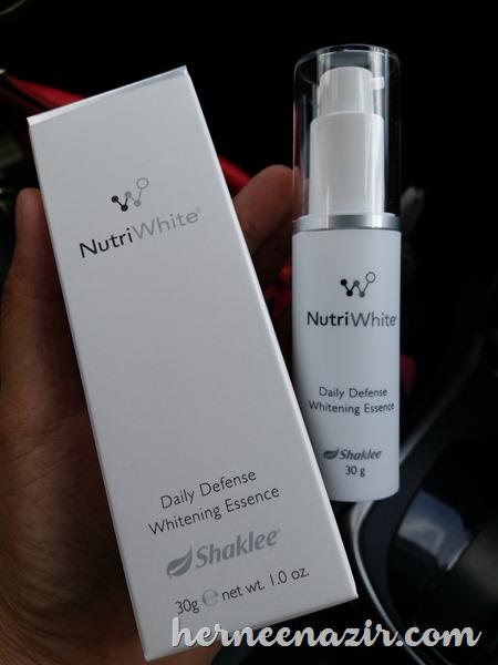Daily Defense Whitening Essence Nutriwhite