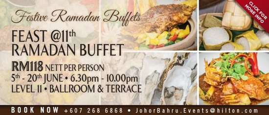Double Tree by Hilton Hotel Ramadhan Buffet 2017