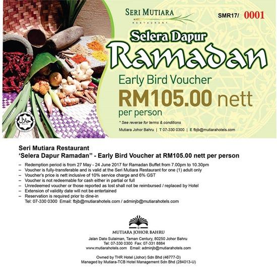 Mutiara Hotel Ramadhan Buffet 2017 2