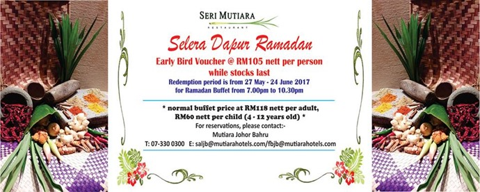 Mutiara Hotel Ramadhan Buffet 2017