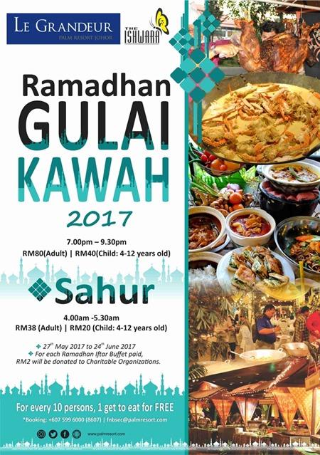 Ramadan buffet 2017  Le Grandeur