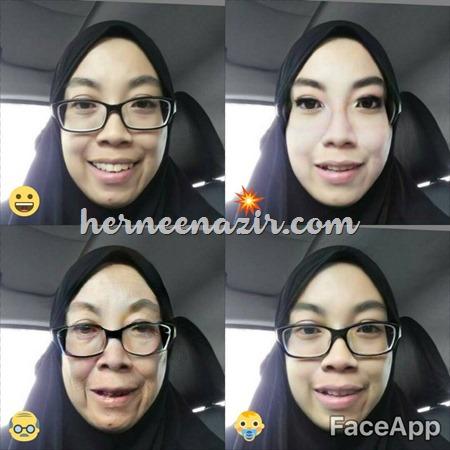 hernee nazir Face app