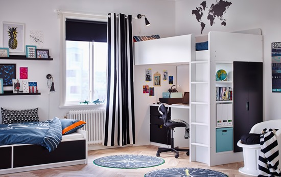 Idea Dekorasi Bilik Tidur Anak 2