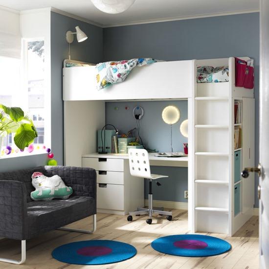 16 Idea Dekorasi Bilik Tidur Anak Dari Ikea