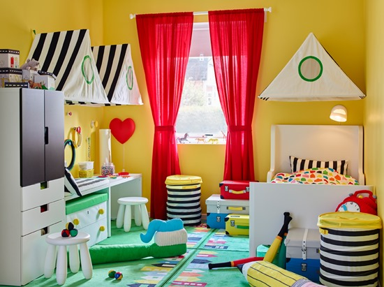 Idea Dekorasi Bilik Tidur Anak 9