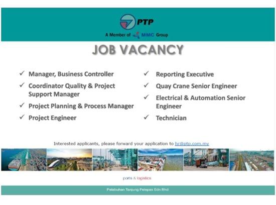 job vacancy PTP