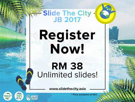Slide the City JB 2017 (23 June - 23 July)