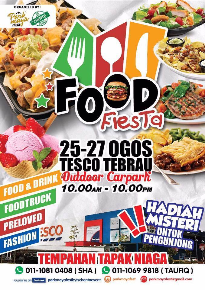 Food Fiesta by Park Maya Fest