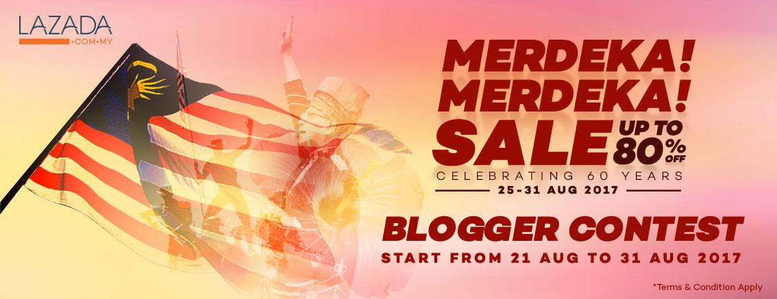 Merdeka!Merdeka! Blogger Contest