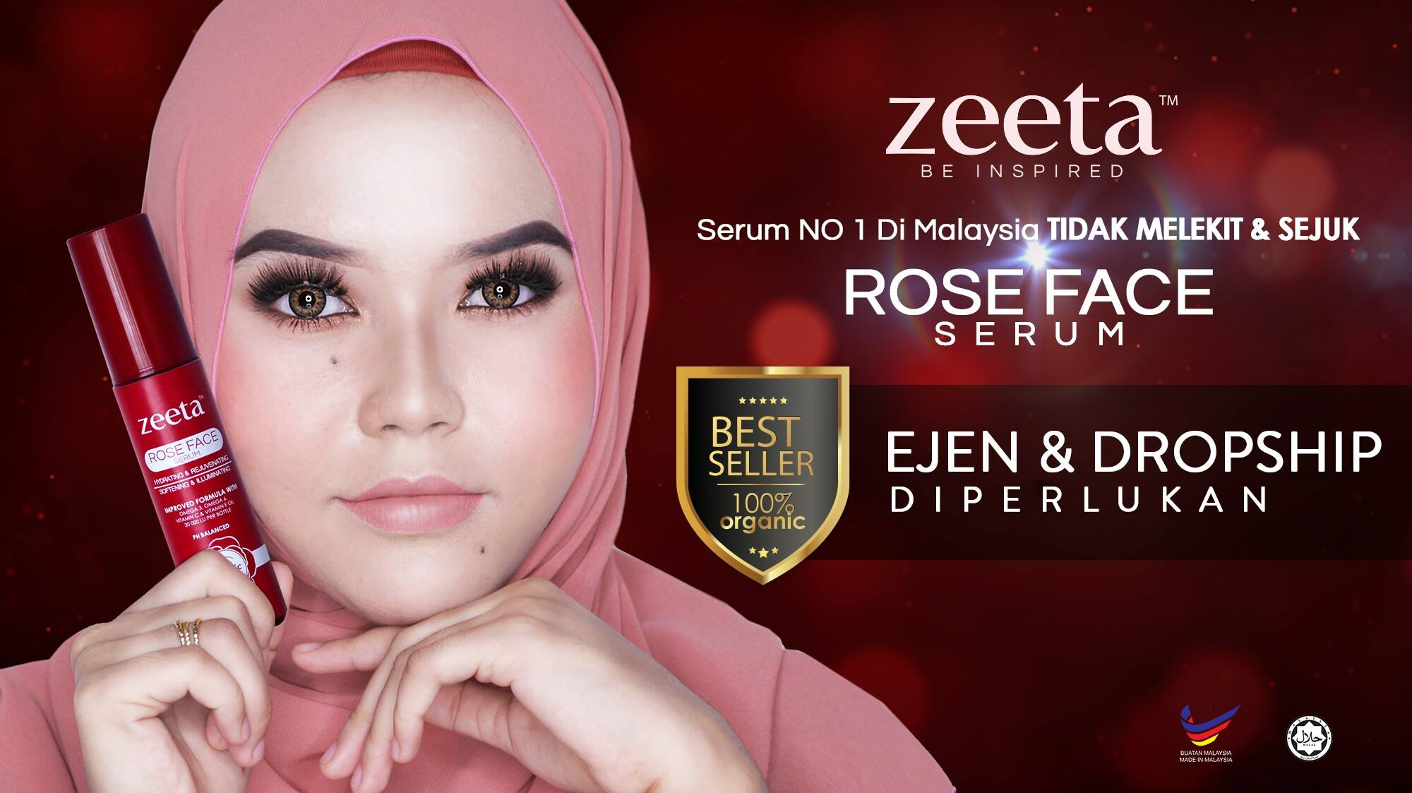 Rose Face Serum ZEETA2