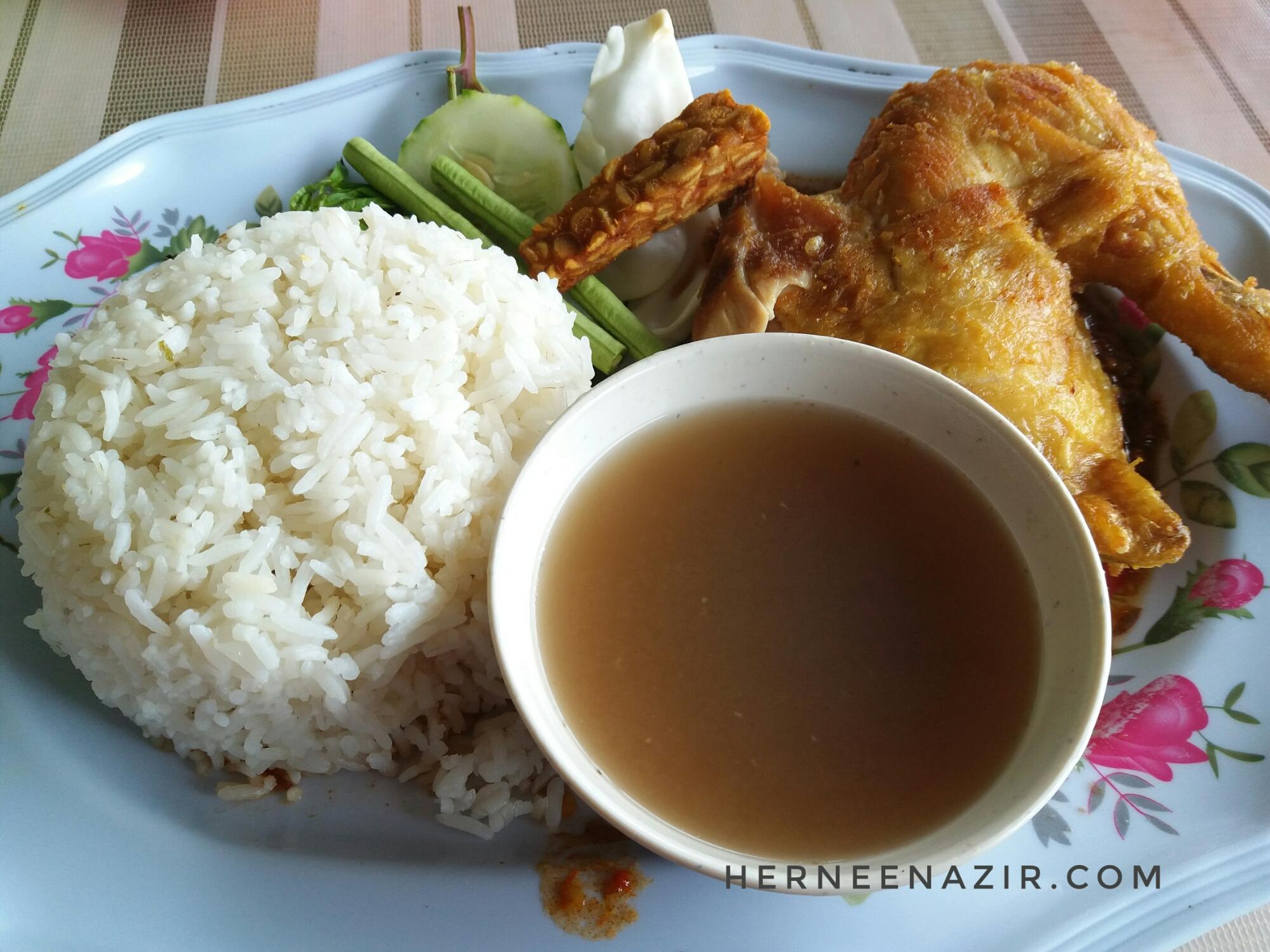 Tuesday's Lunch – Nasi Ayam Penyet Kg. Pekajang