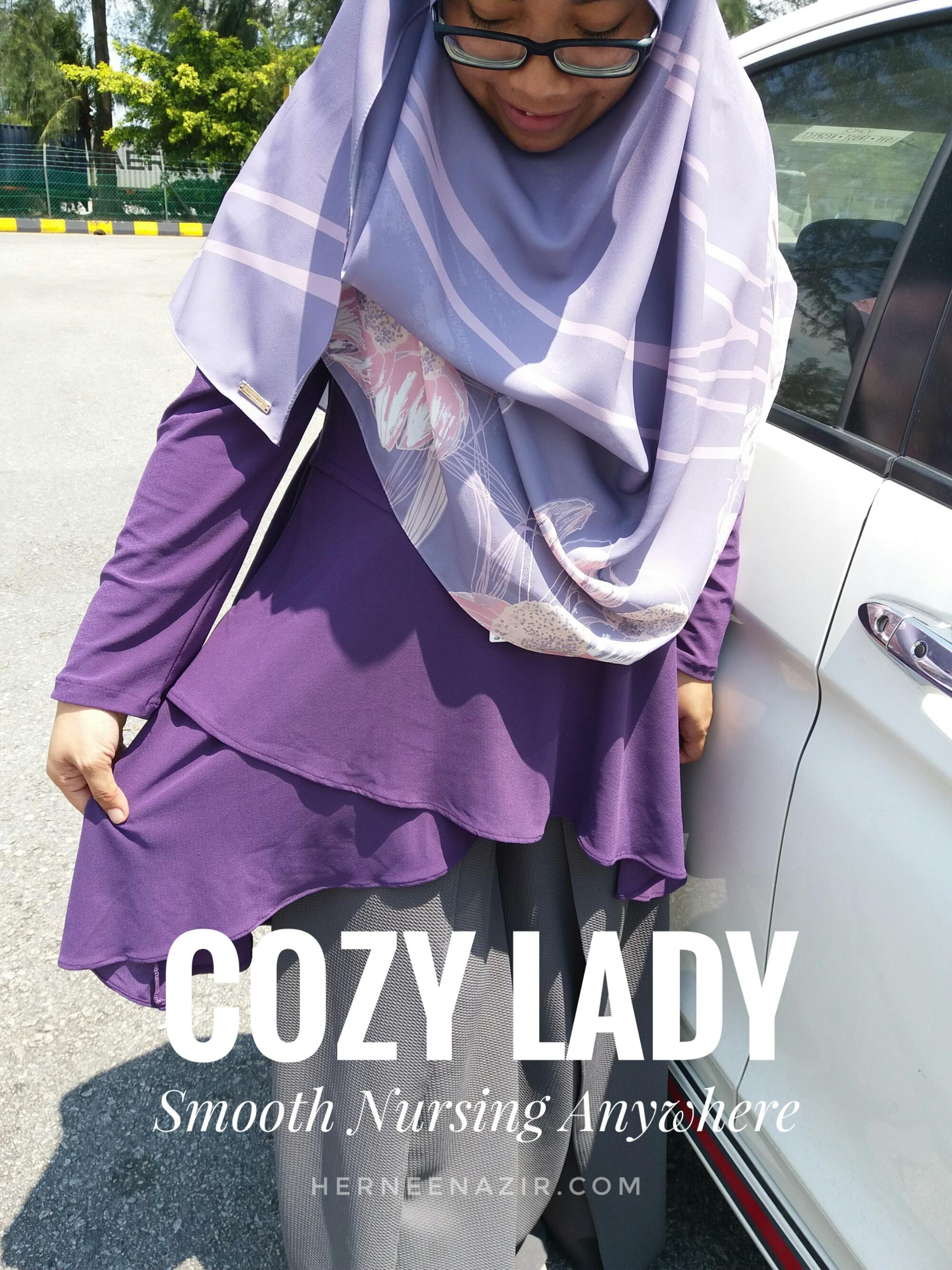 Menyusukan Anak Lebih Mudah Dengan Baju Menyusu Cozy Lady