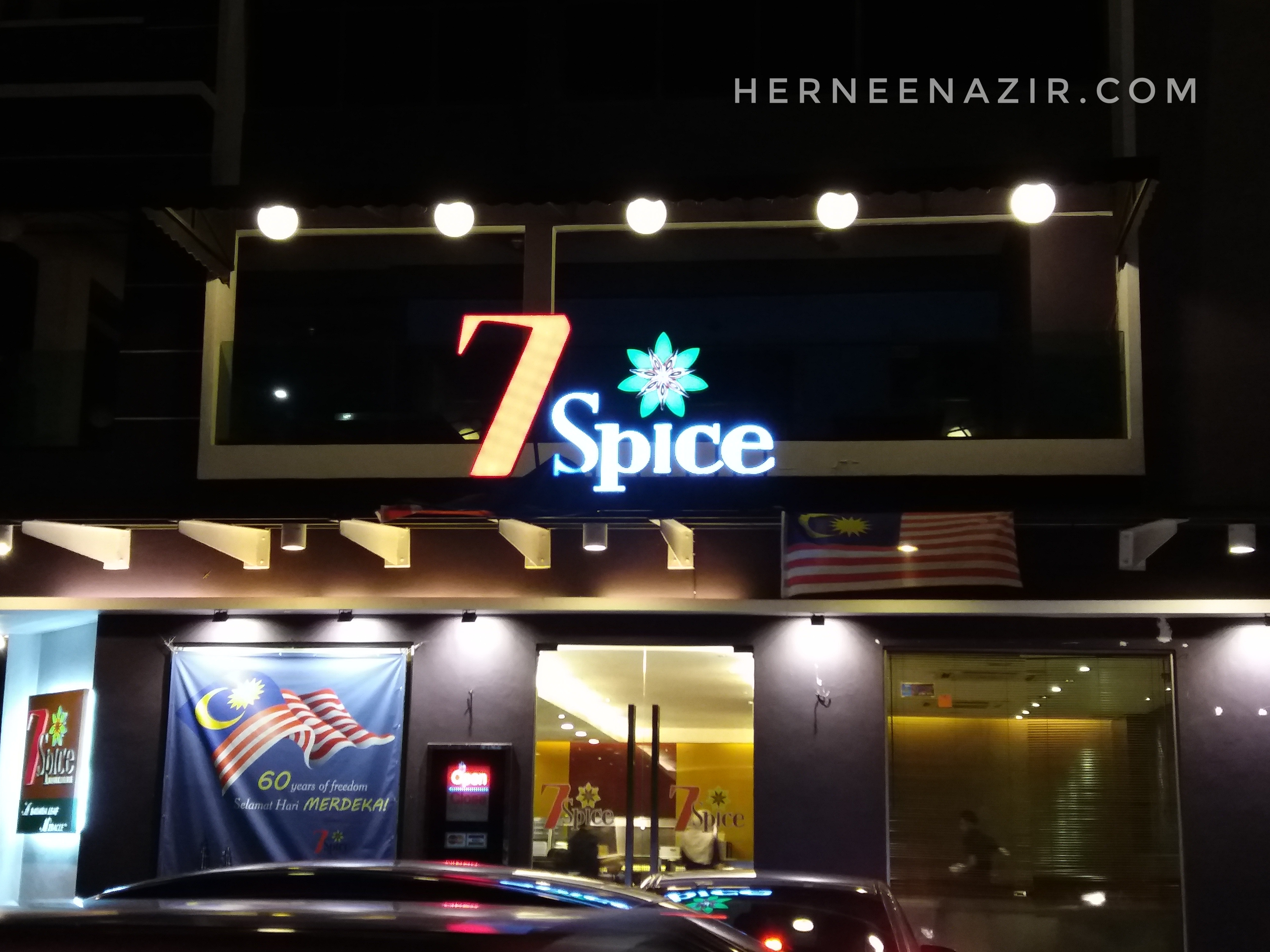 Dinner at 7 Spice Indian Cuisine, Danga Bay Johor Bahru