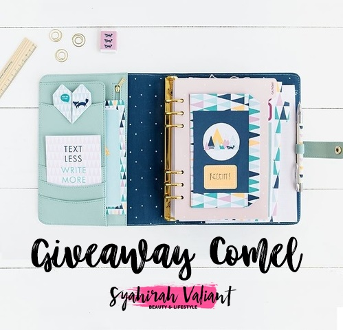 Giveaway Comel By Syahirah Valiant