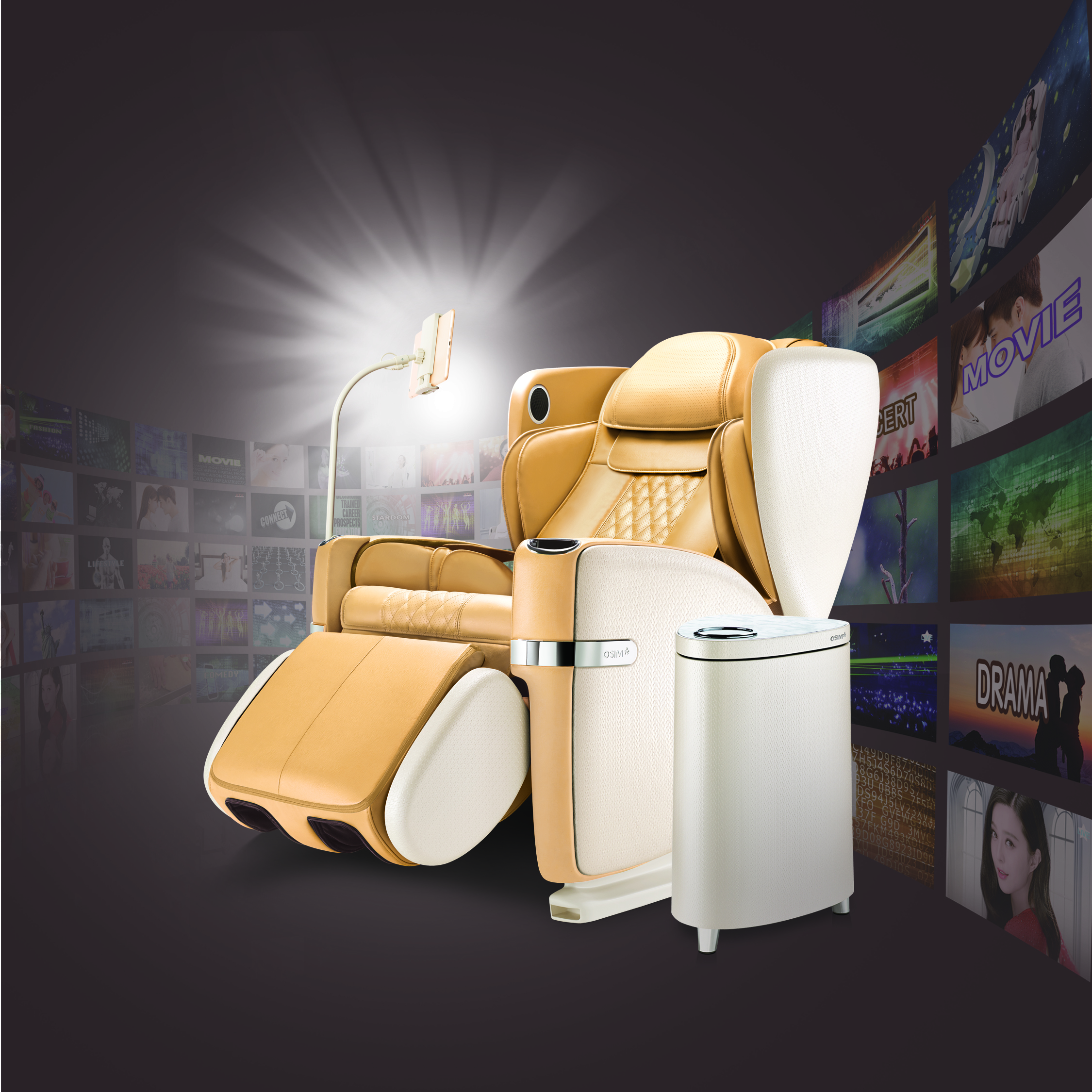 OSIM Celebrates 38th Anniversary With OSIM Limited Edition Gold Colour uLove Massage Chair