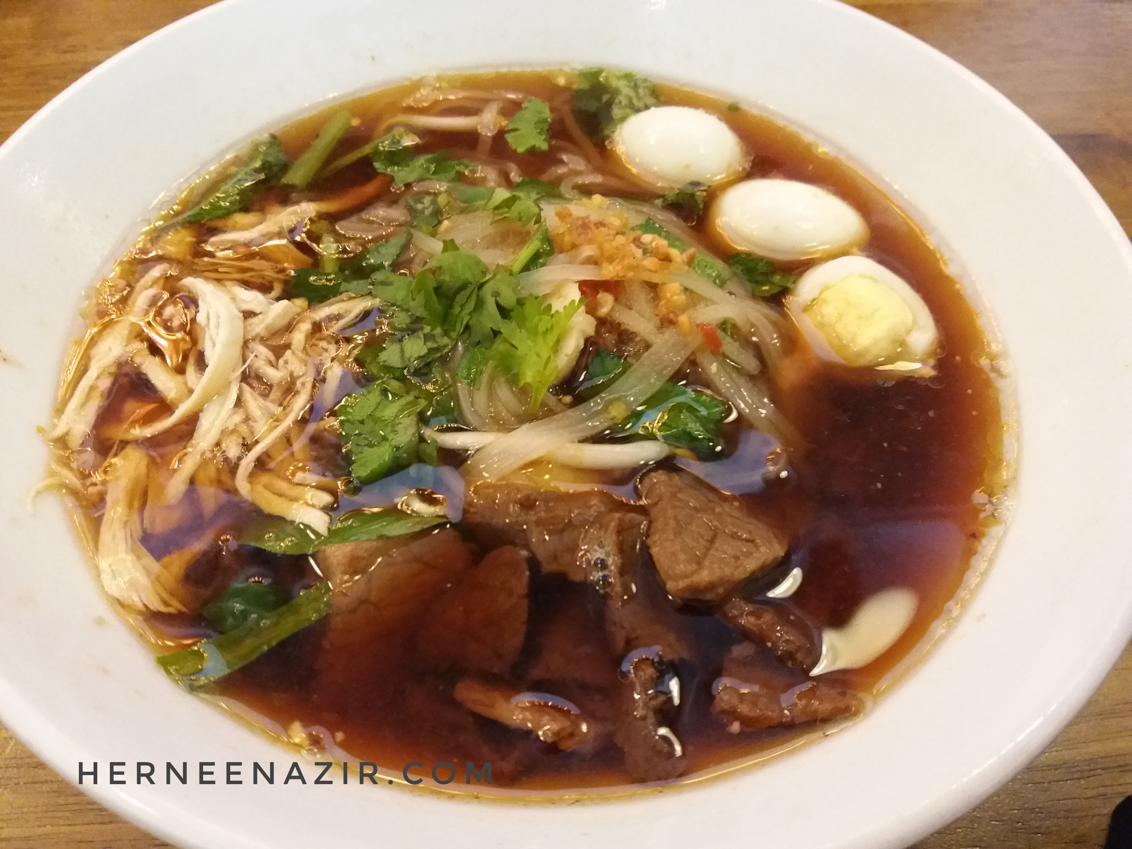 Monday's Lunch – Makan Mee Sampan Je