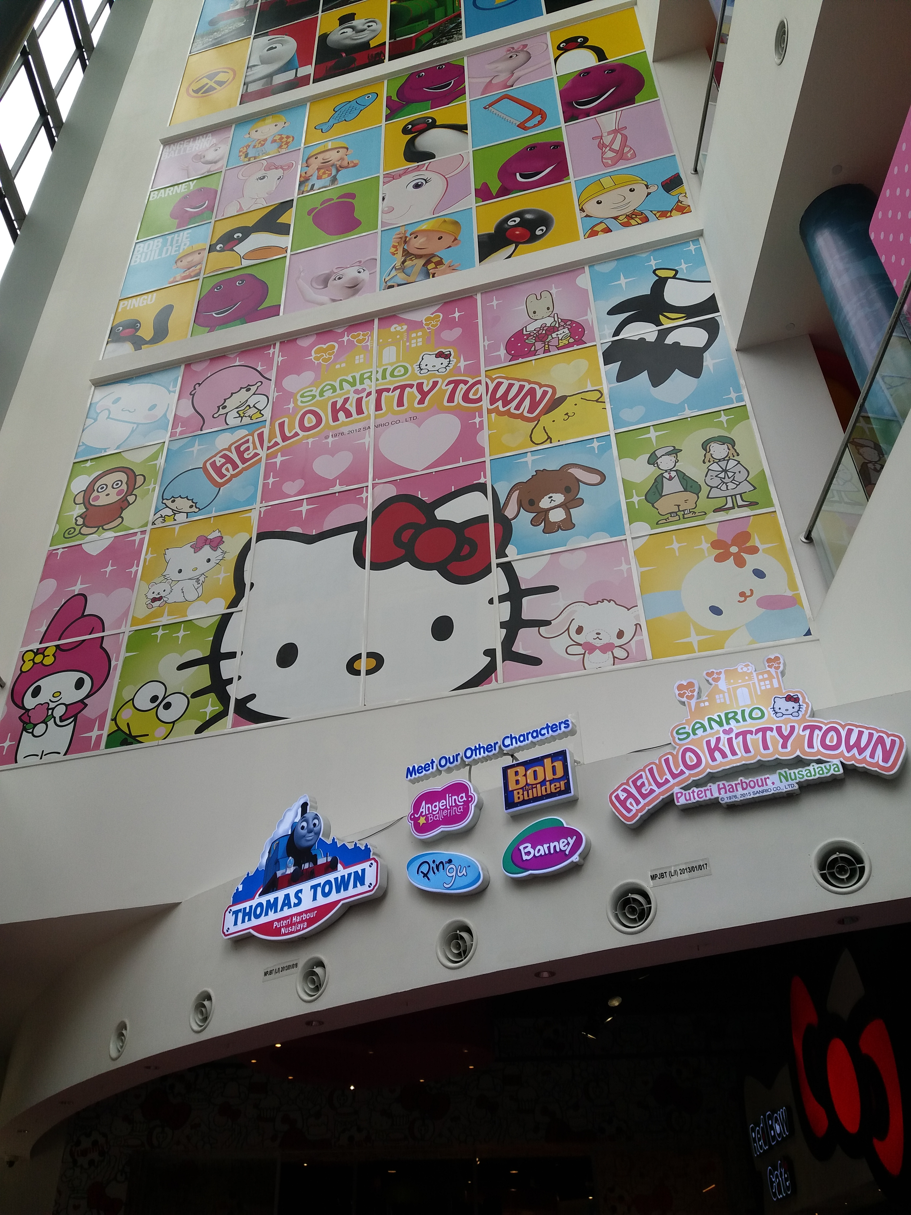 Puteri Harbour Family Theme Park – Sanrio Hello Kitty Town & Thomas Town