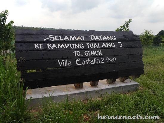Alami Suasana Kampung Tradisional Di Kampung Tualang 3 Tanjung Gemuk Sedili