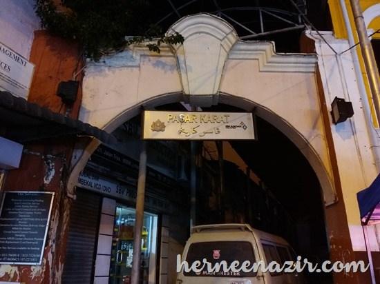 Ronda-ronda Pasar Karat (Bazar Karat) & Deepavali Bazar