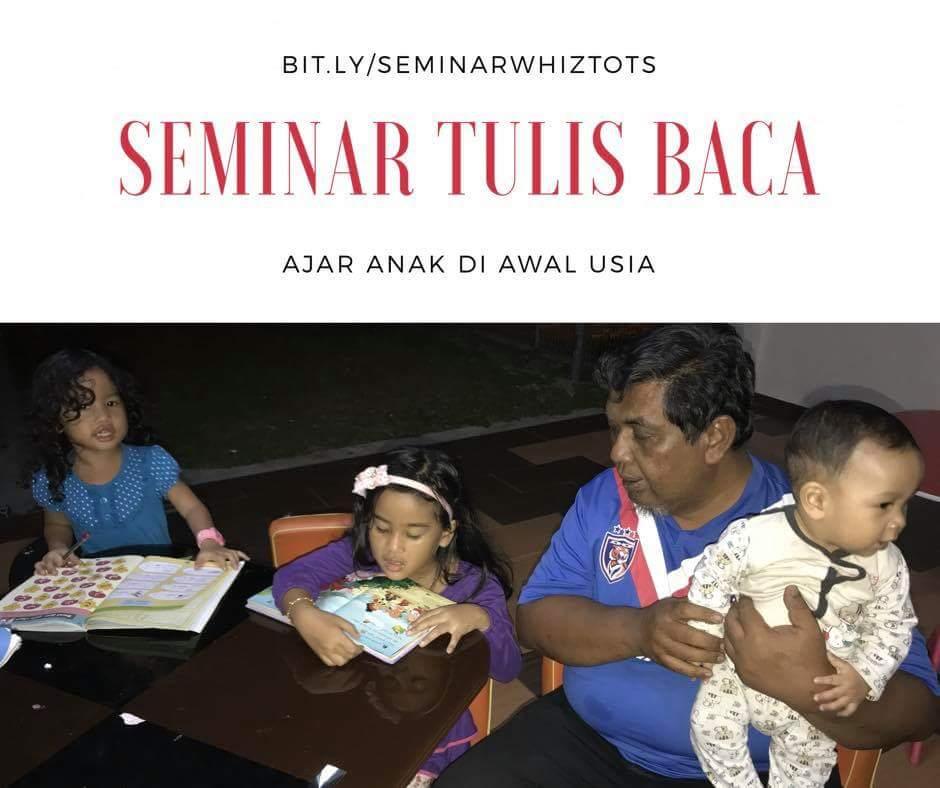Seminar Tulis Baca – 2 Disember 2017