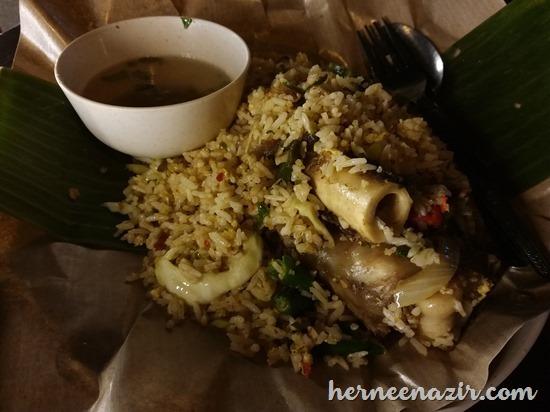 Nasi Goreng Gearbox Sedap Di Restoran Daun Mazz Taman Setia Tropika