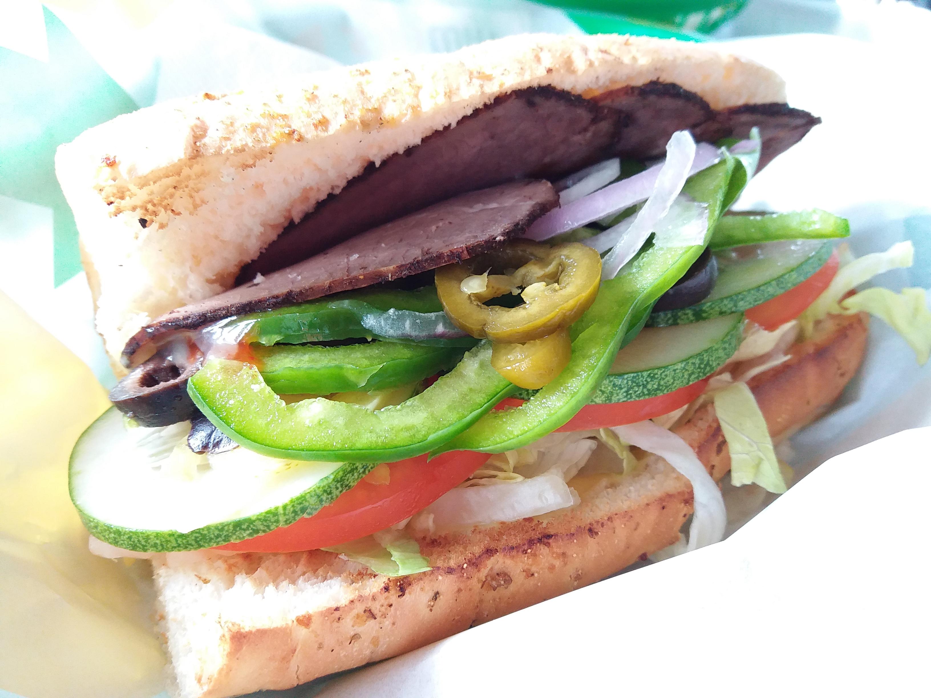 Lunch at Subway Anjung Neighbourhood Centre Iskandar Puteri