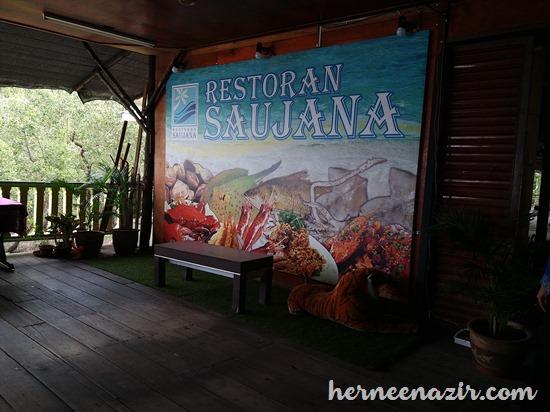 Lunch at Restoran Saujana Kg. Tg. Adang