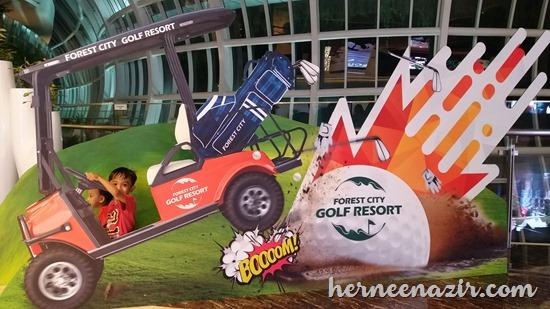 Melawat Tapak Forest City Golf Resort