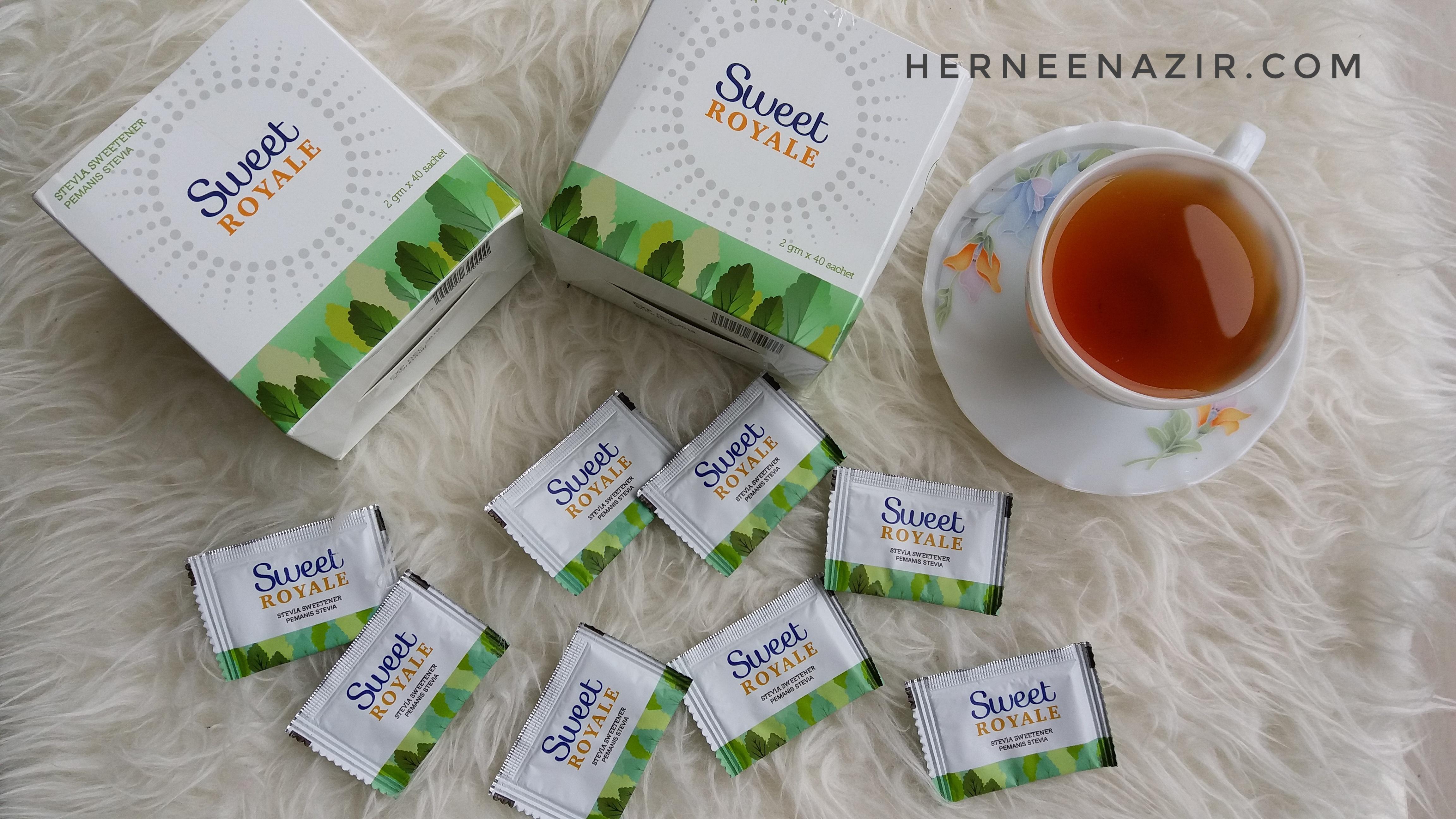 Gantikan Gula Dengan SweetRoyale Stevia Dijamin Halal