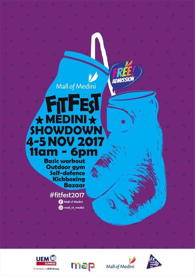 FitFest: Medini Showdown – Mall of Medini   4 – 5 November 2017