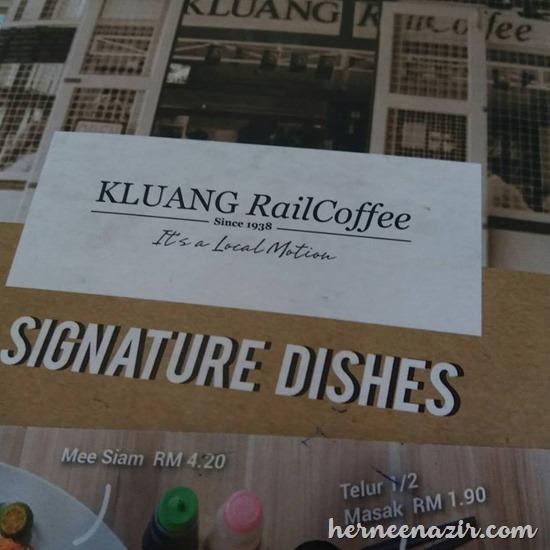 Kenangan Lepak Di Kluang Rail Coffee Selepas Program Kembara Bloggers Johor 2017