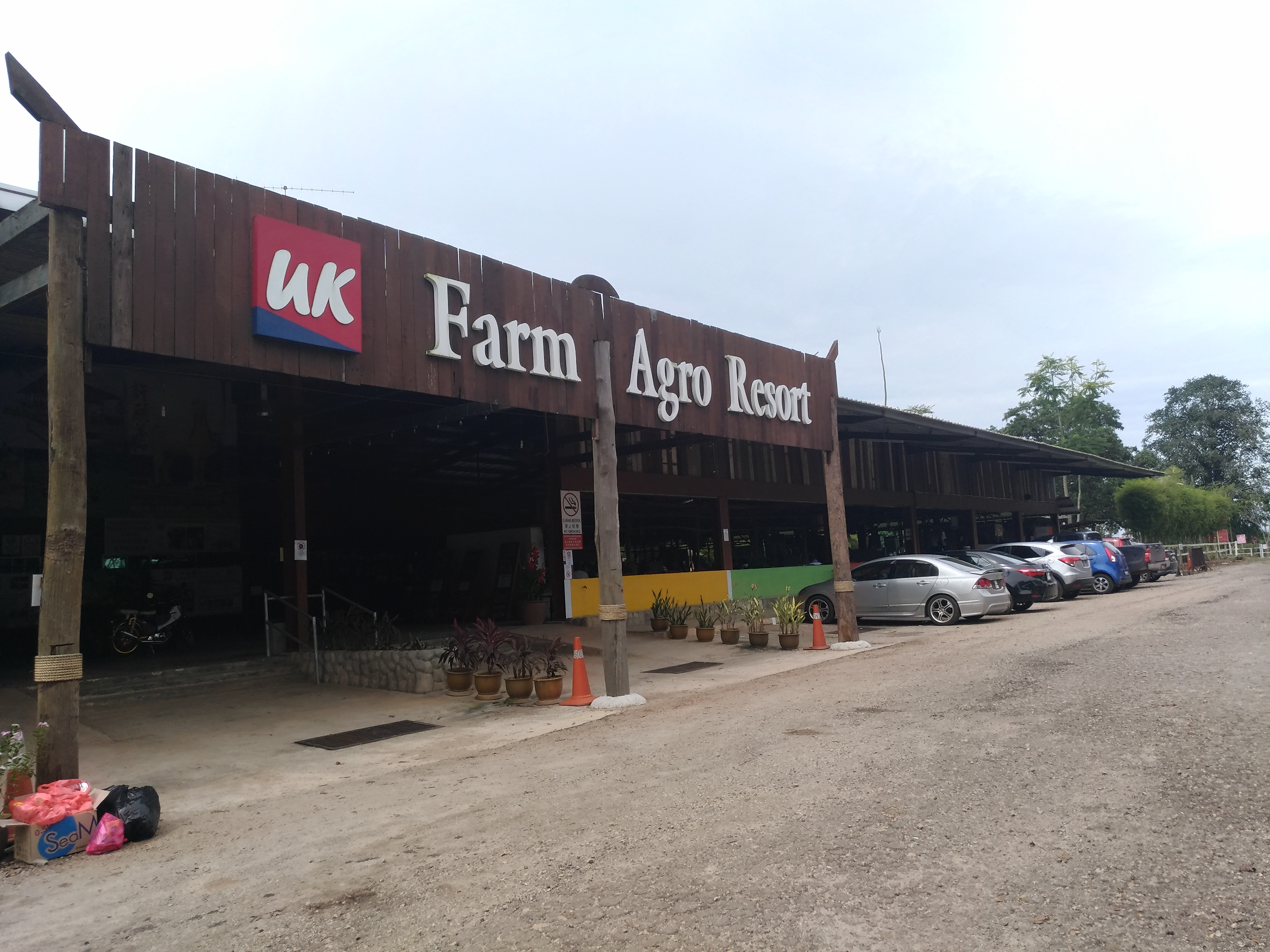 Alami Percutian Agrotourism Di UK Farm Agro Resort Kluang – Part 1