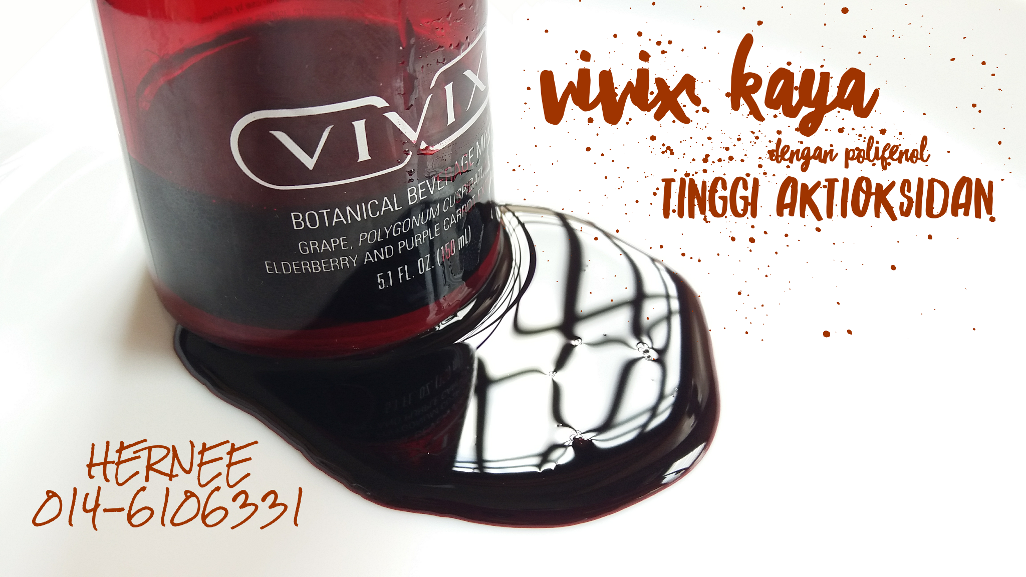 Vivix Kaya Dengan Polifenol & Tinggi Antioksidan