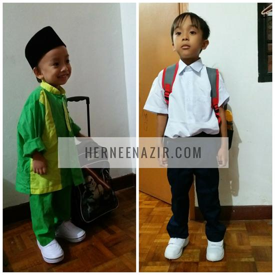 Persediaan Kembali Ke Sekolah ~ Abang Ilham Darjah 1