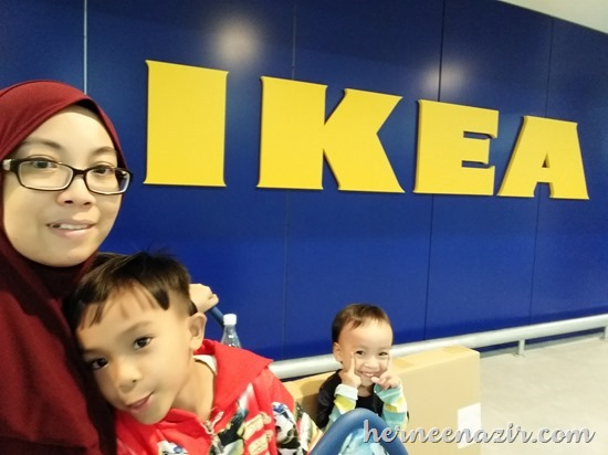 The Ilhams at IKEA Tebrau