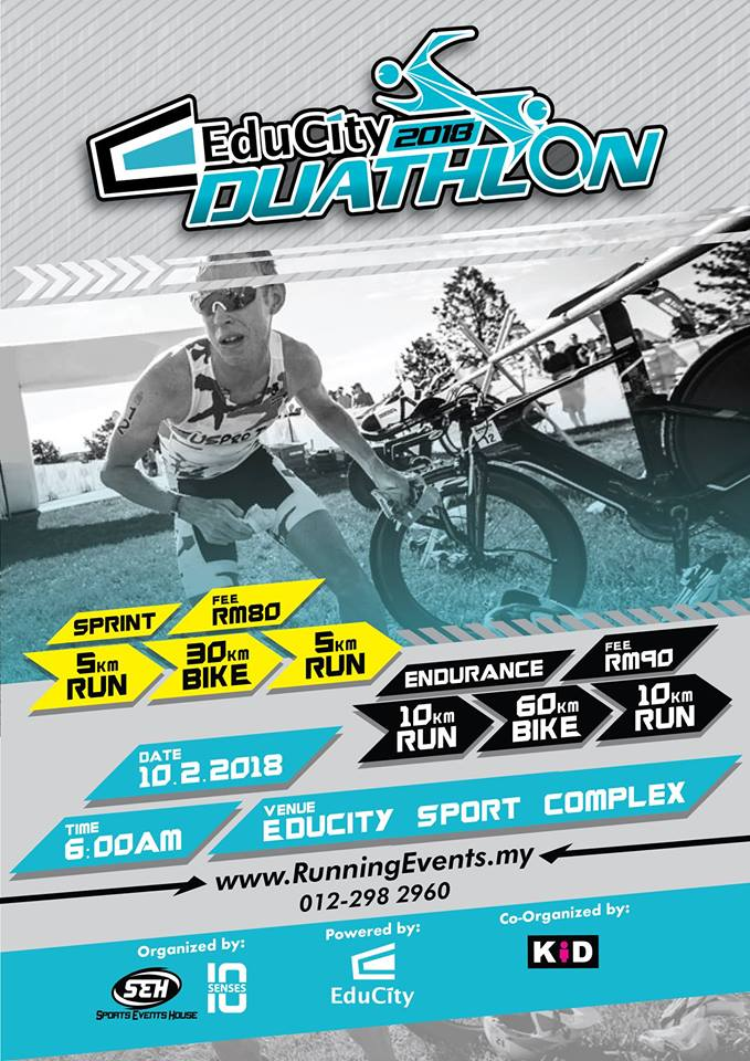 Educity Duathlon 2018 –  10 February 2018
