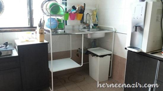 Pemasangan SUNNERSTA Mini-kitchen