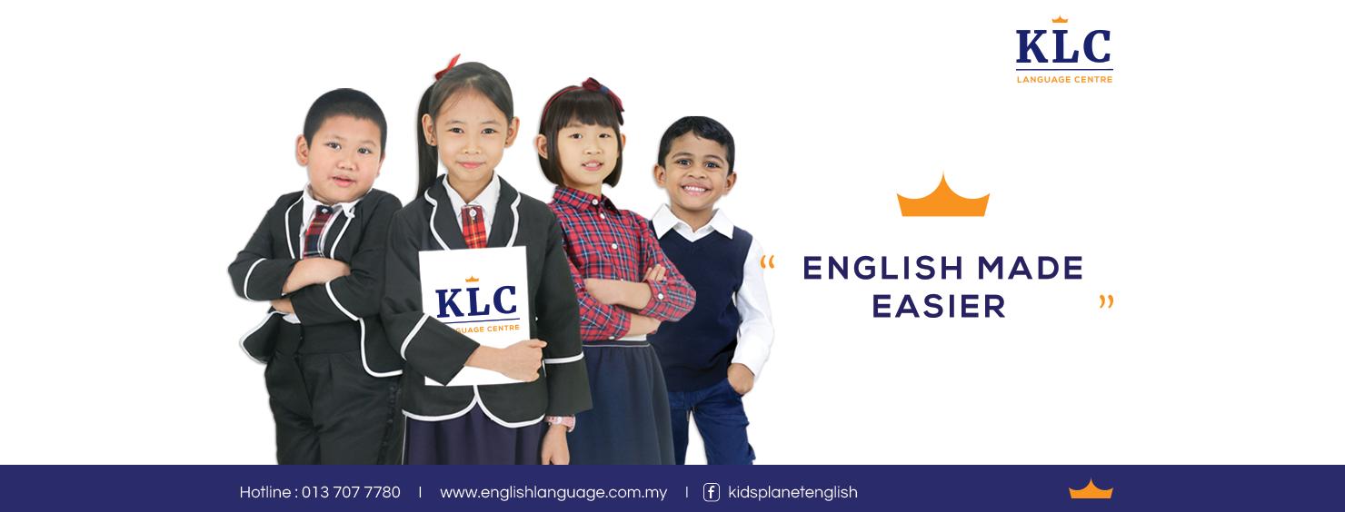 Bantu Anak Anda Kuasai Bahasa Inggeris di Pusat Bahasa KLC (KLC Language Center)