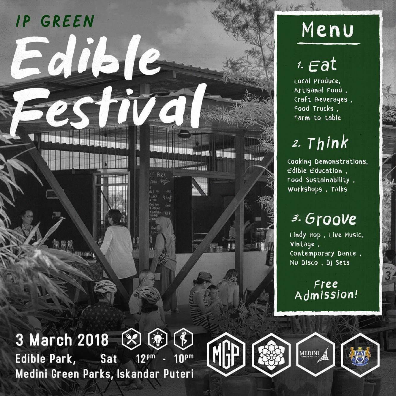 Edible Festival Iskandar Puteri – 3 Mac 2018