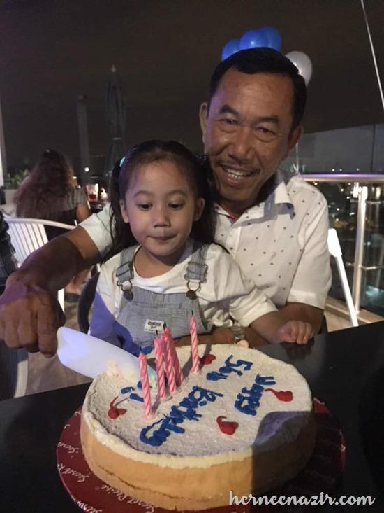 Tok Ayah's Birthday Celebration At Amerin Boutique Hotel Taman Perling–10 Oktober 2017