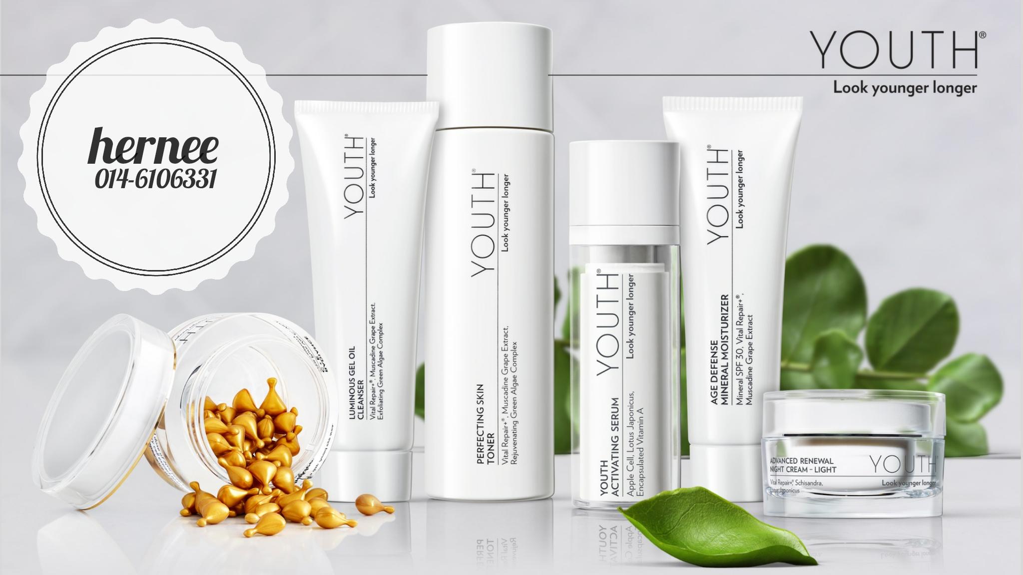 YOUTH® Skin Care | Produk Penjagaan Kulit Terbaru Dari Shaklee