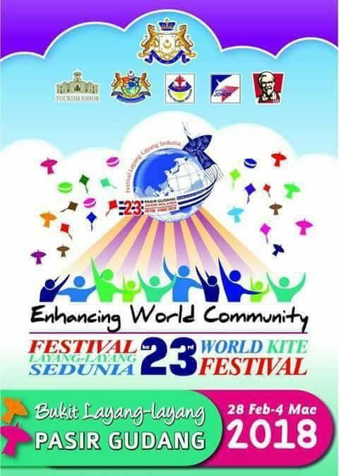 Festival Layang-layang Sedunia Ke 23 – 28 Feb hingga 4 Mac 2018
