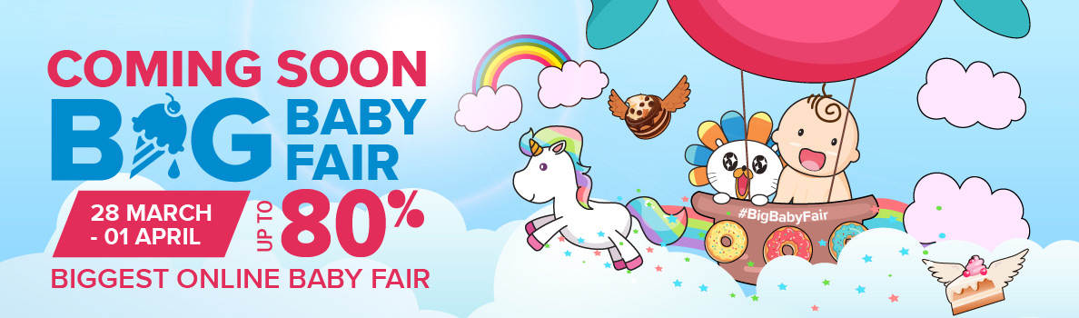 Lazada Big Baby Fair Sale Kembali Lagi | 28 Mac – 1 April 2018