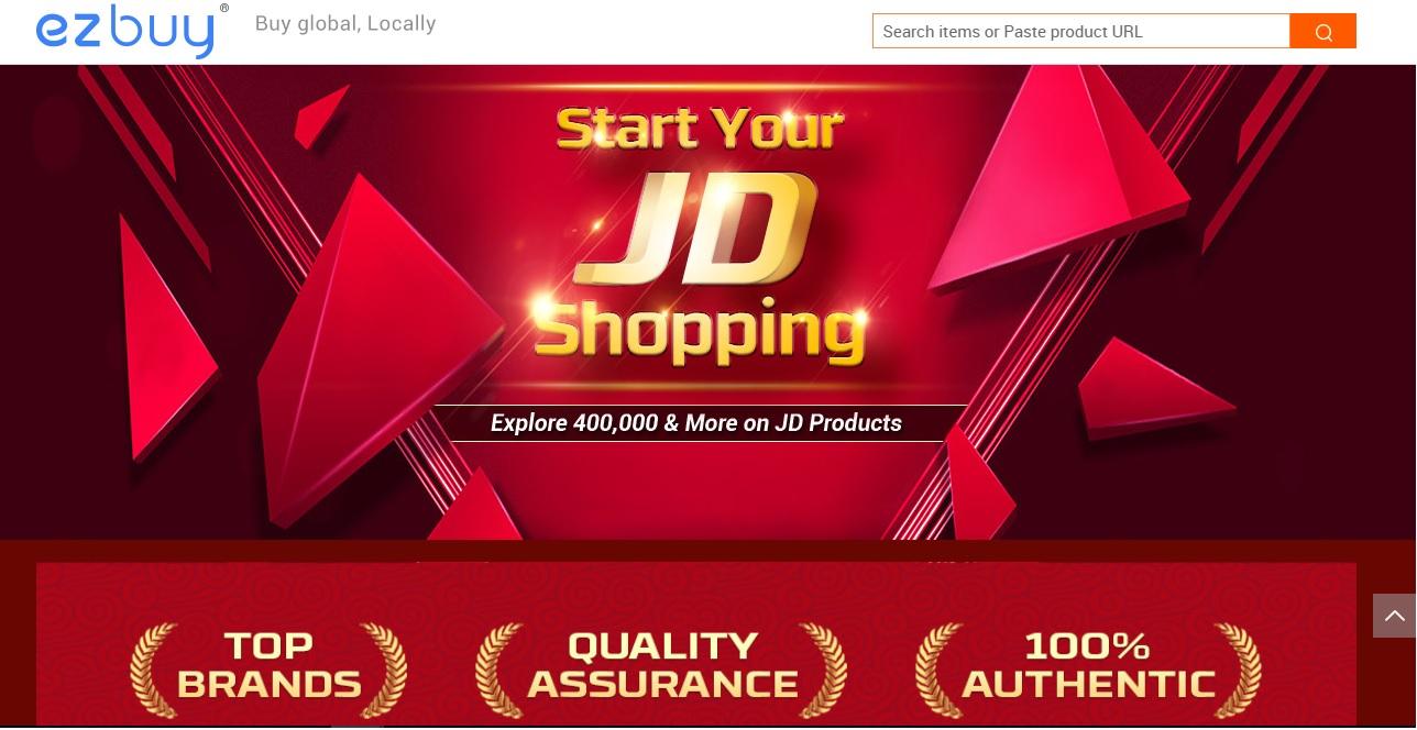 Produk JD.com & Mogujie Kini Boleh Didapati di Website Ez Buy