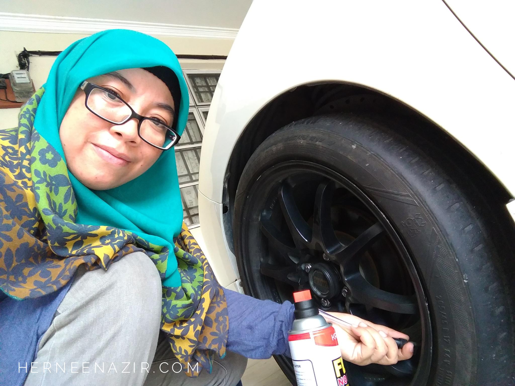 KRONOS FLATNOMORE Tyre Sealant & Inflator – Penyelesaian Masalah Tayar Pancit